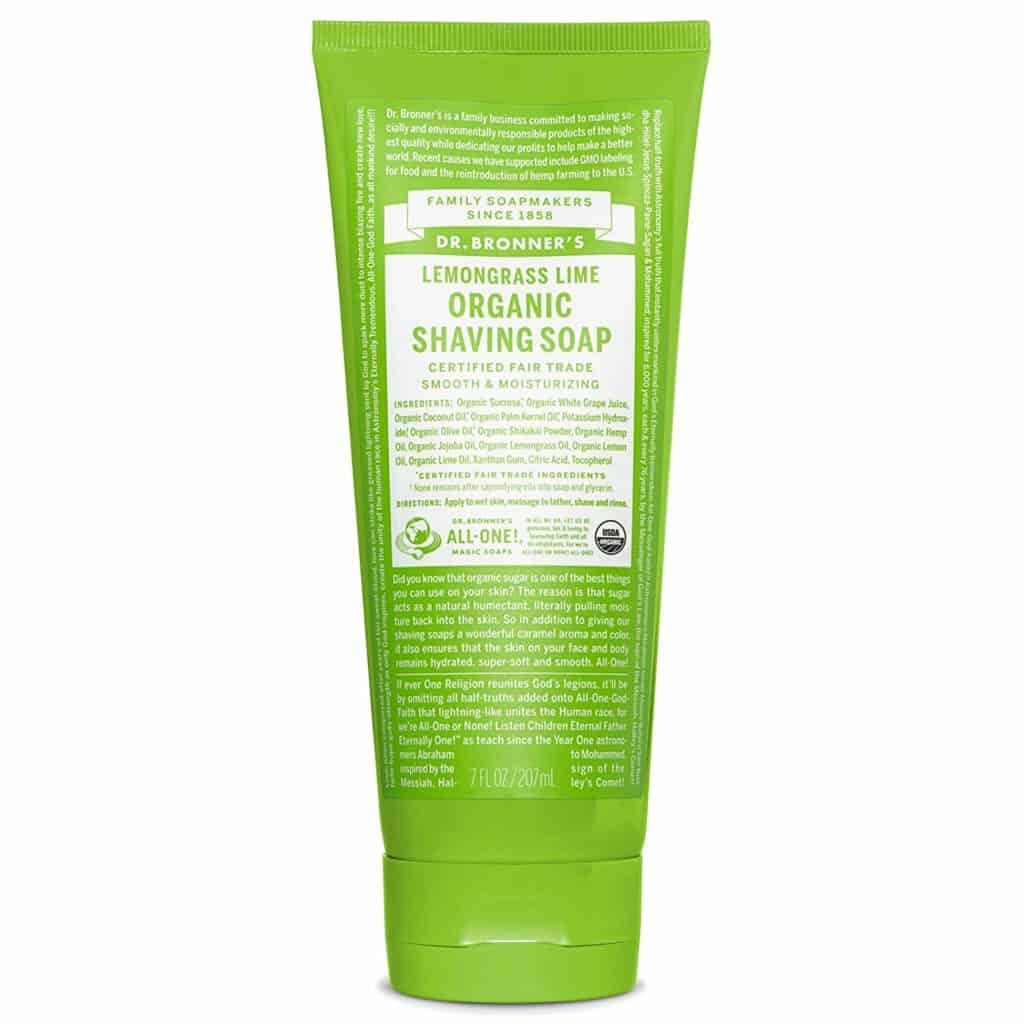 Dr Bronners Shaving Soap