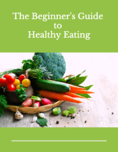 Beginner's Guide to Healthy Eating Cover