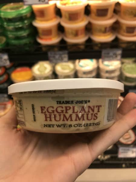 Must Have Trader Joe's Eggplant Hummus | Spiro Health and Wellness