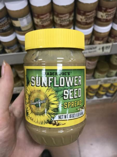 Must Have Trader Joe's Sunflower Seed Butter | Spiro Health and Wellness